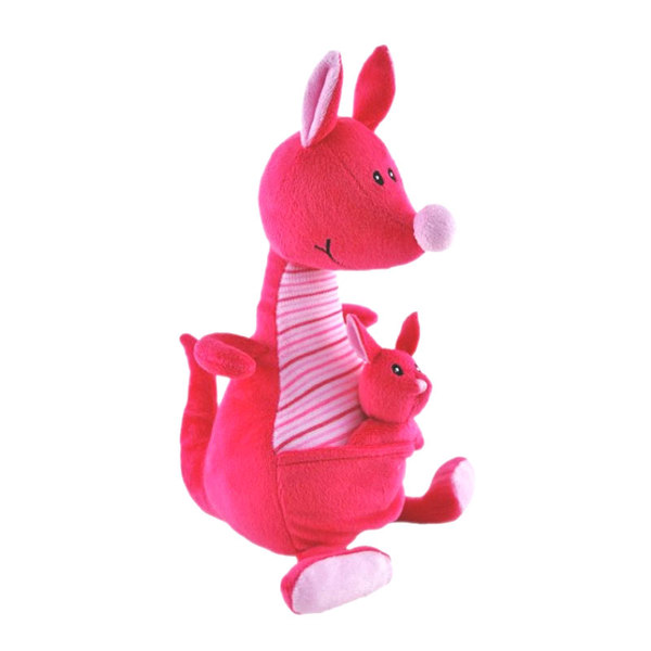 Kangaroo Stuffed Animals Pink Baby Safe Small Elka Australia
