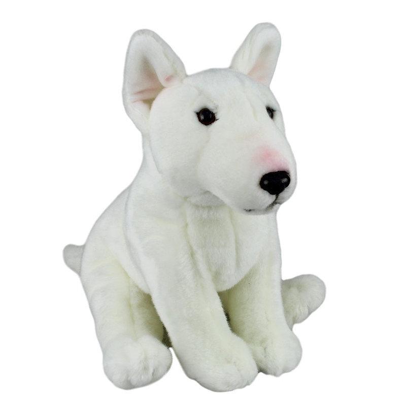 Bull Terrier Dog Soft Plush Toy 30cm Stuffed Animal