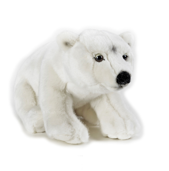 Polar Bear Toys : Polar bear soft toy stuffed animal national geographic