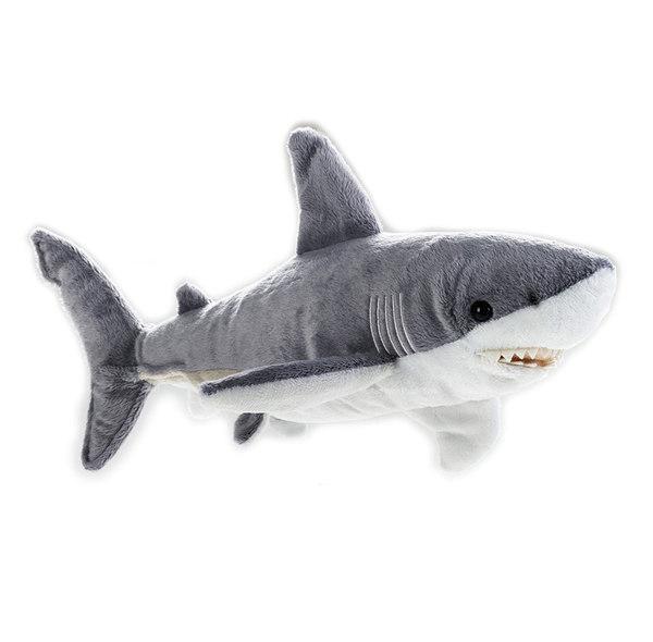 Shark Toys Great White : Great white shark soft plush toy medium national
