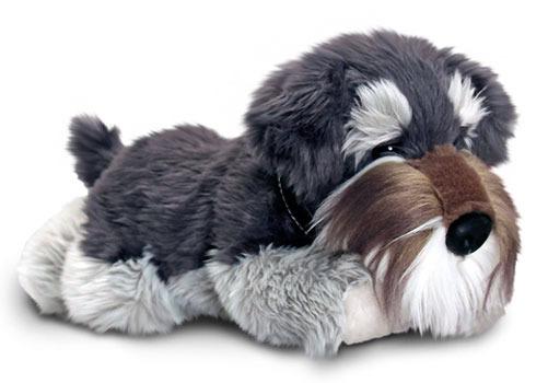 Schnauzer Dog Soft Plush Toy 30cm Stuffed Animal Keel