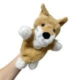 Dingo Hand Puppet soft plush toy by Elka