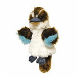Kookaburra Hand Puppet with sound soft plush toy by Elka
