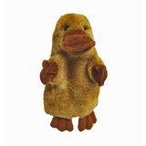 Platypus Hand Puppet soft plush toy by Elka