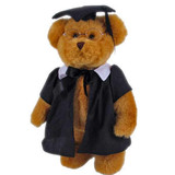 Graduation Teddy Bear with glasses Tic Toc Teddies