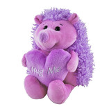 Hedgehog Tigger with Hug Me Heart Purple - Valentines Day