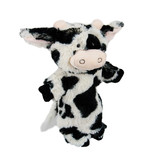 Cow Hand Puppet soft plush toy - Cormac by Nat & Jules