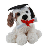 Graduation Dog Puppy soft plush toy by Elka