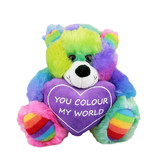 """You Colour My World"" Teddy Bear- Elka"