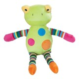 Frog soft plush baby safe toy CLYDE by Blossoms and Buds