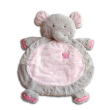 Elephant Pink Baby Play Mat by Fuzzy Factory