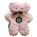 Rosie Pink Large Sheepskin Flatout Bear