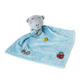 Me to You Tiny Tatty Teddy BLUE Baby Comforter soft toy