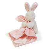 Bunny Blinkie Pink soft Baby Comforter Blankie Bunnies by the Bay
