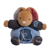 Kaloo Denim BLUE Rabbit Small soft plush toy baby safe toy boxed gift