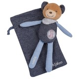 Kaloo Denim Blue Doll Doudou Comforter