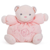 Kaloo Perle PINK Chubby Bear small soft plush toy baby safe boxed gift