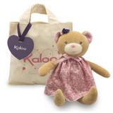 Kaloo Petite Rose BEAR Doll rag doll soft plush toy