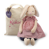Kaloo Petite Rose RABBIT Maxi Doll soft plush toy