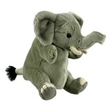 Elephant Hand Puppet Plush Toy - National Geographic