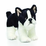 BOSTON TERRIER Dog soft plush toy by Nat & Jules