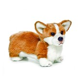 Corgi Dog Soft plush toy by Nat & Jules