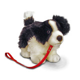 Border Collie with Lead - Li'l Pups Keel Toys