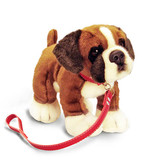 Boxer Dog with Lead - Li'l Pups Keel Toys