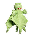 Fizzie Frog Baby Comforter - Save our Sleep by Tizzie Hall