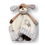 Marley the Dog Baby Comforter Blankie with rattle soft plush toy