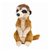 Meerkat Soft Plush Toy standing mini  - Wild Republic
