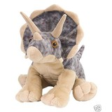 Dinosaur Triceratops soft plush toy by Wild Republic