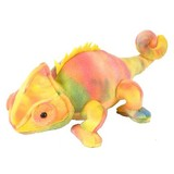 Chameleon soft plush toy by Wild Republic