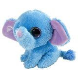 Li'l Sweet & Sassy ELEPHANT - BLUEBERRY soft toy