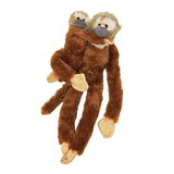 Hanging Squirrel Monkey with baby soft plush toy