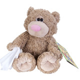 Get Well Buddies Cold/Flu Bear soft plush toy by Wild Republic