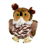 Hug'ems Great Horned Owl Small - Wild Republic