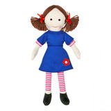 Play School Jemima Classic Soft Plush Toy Doll - ABC KIDS TV SHOW