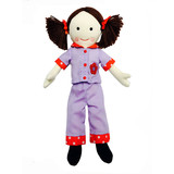 Play School Bedtime Jemima Plush Toy Doll - ABC KIDS TV SHOW