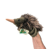 ECHIDNA HAND PUPPET - AUSTRALIAN MADE soft plush toy