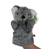 AUSTRALIAN MADE Koala Hand Puppet plush toy