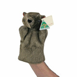 AUSTRALIAN MADE Wombat Hand Puppet plush toy