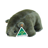 Australian Made Wombat Small plush stuffed toy