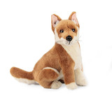Dingo sitting medium soft plush toy - Byron