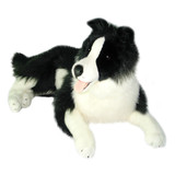 Border Collie Large Lying plush toy - Oscar- Bocchetta Plush
