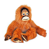 Orangutan soft plush toy large - Rumba