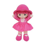 Rag Doll PINK soft bodied ragdoll soft toy doll