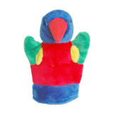 Lorikeet Bird - Plush hand puppet