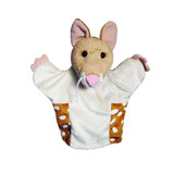 Quoll soft hand puppet