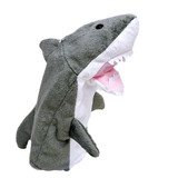 Shark hand puppet soft toy